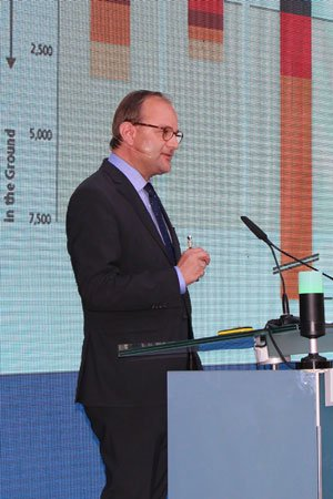 Ottmar Edenhofer beim SWISSECS