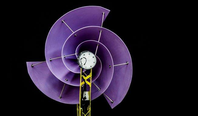 Mit innovativer Windkraftanlage fürs Dach fast unabhängig wohnen