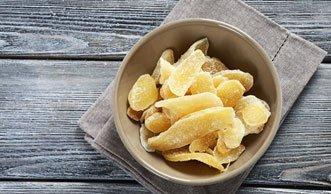 Süss-scharf-gesund: Kandierten Ingwer selber machen