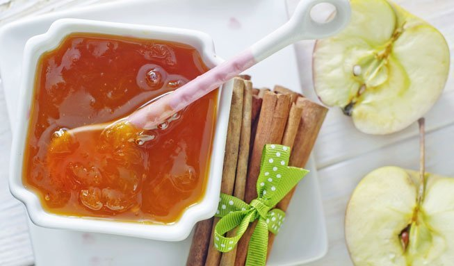 Apfel im Glas: Rezepte für feine Konfitüre und Gelees