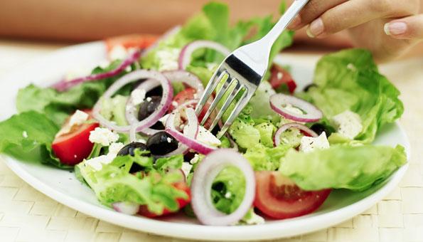 Gesunde Ernährung hält uns fit