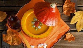 Schnell und superlecker: Drei einfache Rezepte für Kürbissuppe