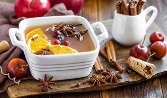 Fruchtige Warmmacher: 4 Grund-Rezepte für feinen Punsch