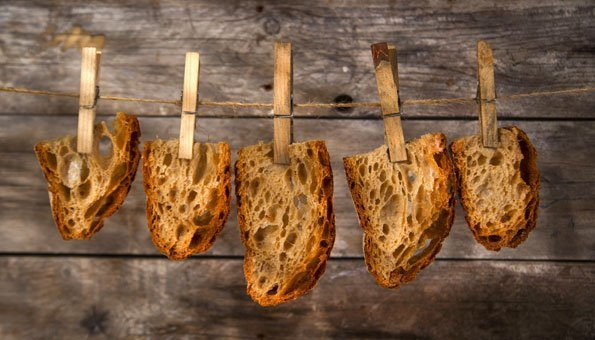 Save Food: Feine Rezepte mit altem Brot