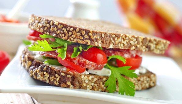 Fastfood kann auch gesund sein und zum richtigen Fitmacher werden.