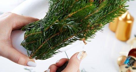adventskranz selber machen anleitung zum binden und dekorieren