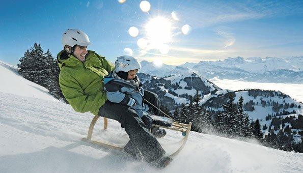Schlittelbahnen Schweiz: Die spektakulärsten Routen