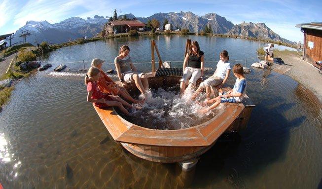 Natur entdecken und erforschen auf den Erlebniswegen der Schweiz