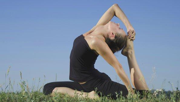 Yoga hilft der Gesundheit von Körper und Geist