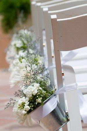 Dekorieren Sie bei der Green Wedding einfach mit Topfpflanzen