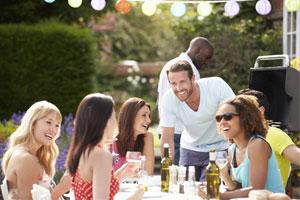 Was wäre eine Sommer ohne Grillpartys mit Freunden?