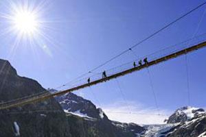 Das sind die 8 spektakulärsten Hängebrücken der Schweiz