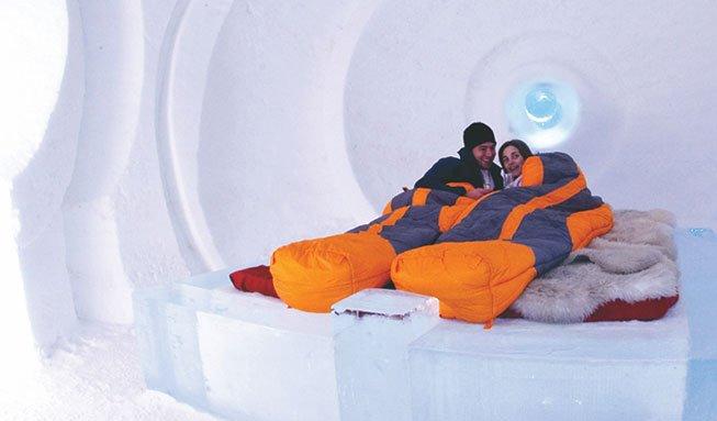 Die coolsten Hotels der Schweiz: Übernachten im Igludorf