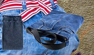 Was Sie aus Ihrer alten Jeans so alles machen können