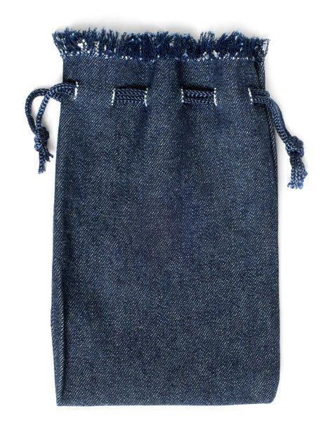 Jeans Upcycling zur Tasche. Schürze und Telefonhülle