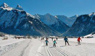 Langlaufen in der Zentralschweiz: Die schönsten Loipen bei Studen