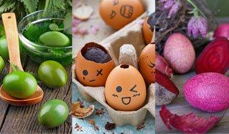 Ostereier verzieren mit schönen Techniken und Naturfarben