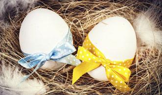Ostereier verzieren mit tollen Techniken und natürlichen Farben
