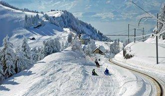 Schlittelspass ganz nah: Rasante Routen in der Zentralschweiz