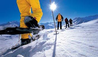 Abseits der Wege wandern: Die schönsten Schneeschuh-Touren