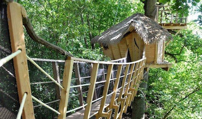 Von abenteuerlich bis romantisch: Übernachten im Baumhaus