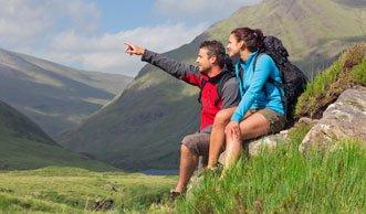 Die liebsten Freizeitaktivitäten: Wandern schlägt Velofahren