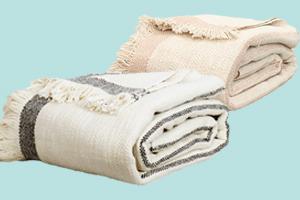 2 kuschelige Baumwolldecken für je 109 Franken gewinnen