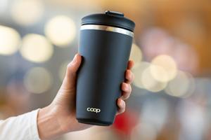Wir verlosen zusammen mit Coop 10 Thermo-Kaffeebecher