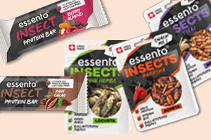 Wir verlosen 5 Probier-Sets mit feinen Insektensnacks