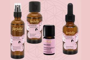 2 Aroma-Pflegesets für Frauen von Farfalla gewinnen