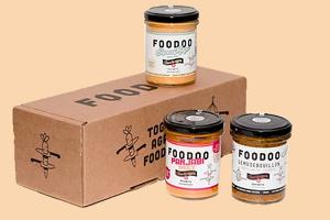 5 Probierboxen mit Saucen und Bouillon von Foodoo gewinnen
