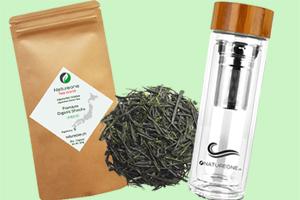 Drei praktische Teeflaschen samt Bio-Tee von Natureone gewinnen