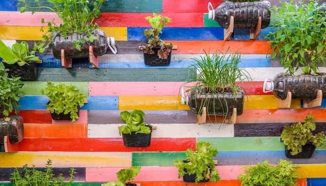 16 Ideen für Upcycling-Pflanzgefässe