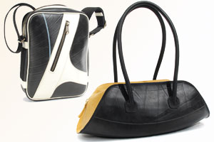 Wir verlosen 2 Upcycling-Taschen von Schreif für über 500 Franken!