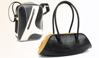 2 Upcycling-Taschen von Schreif gewinnen