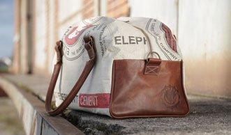 Wir verlosen eine Upcycling-Tasche von Elephbo für 249 Franken!