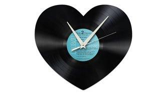 Gewinnen Sie 6x1 Herz-Schallplatten- Uhr für je 99 Franken!