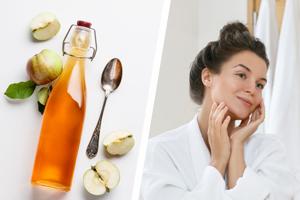 Mit Apfelessig Haut und Haare pflegen: 6 Anwendungstipps