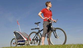 E-Bike mit Anhänger: der ideale Autoersatz