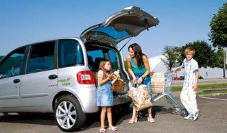 Fahren mit Erdgasautos: umweltfreundlich Gas geben