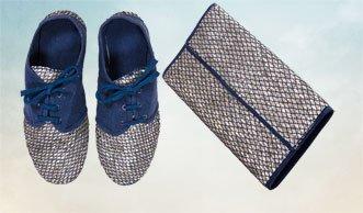 Wie Industrieabfälle zu stylischer Mode werden