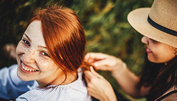 So essen Sie sich die Haare schön
