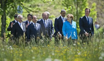 G7-Gipfel: Mit grossen Schritten gegen den Klimawandel