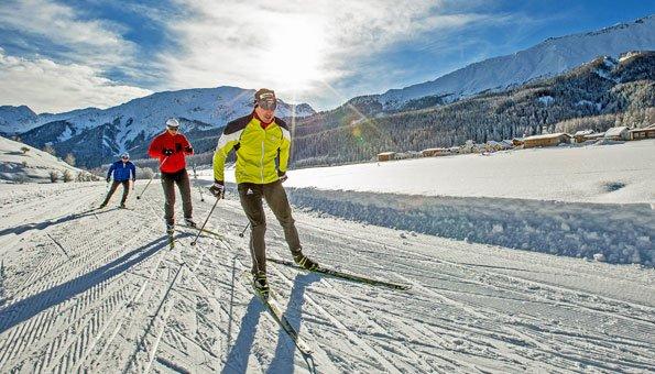 Panoramaloipen Schweiz: Langlaufen vor spektakulärer Kulisse