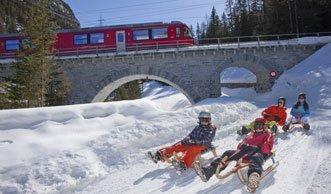 Winterspass der Superlative: Schlitteln in der Ostschweiz