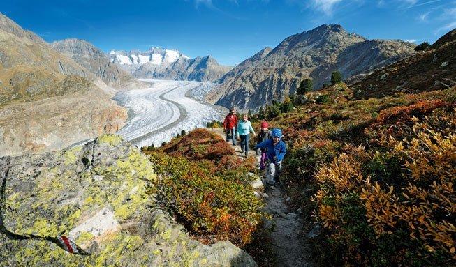 Natur pur: Die schönsten Ziele in den Schweizer Alpen