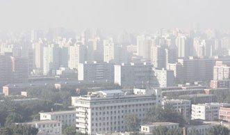 Smog in China: 90 Prozent der Städte gefährlich stark belastet