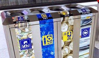 An SBB-Bahnhöfen wird deutlich mehr Abfall getrennt