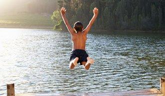 Ab zur Seebadi! Die Wasserqualität ist fast überall einwandfrei