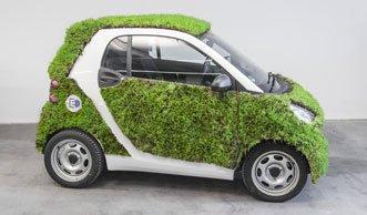 Fahrender Rasen: Daimler präsentiert den Green Skin